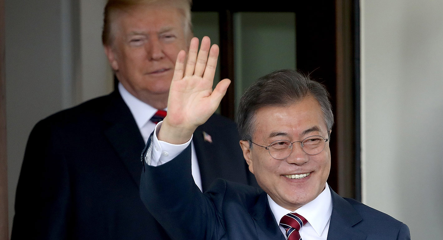 What to Watch When Moon Meets Trump