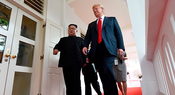 Trump's Diplomacy with Kim Dims as Both Sides Return to Hard-Line Positions