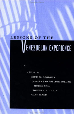 Cover - Lessons of the Venezuelan Experience