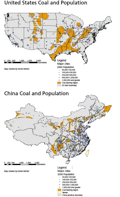 China S Eastern Coastal Provinces Are Home To 60 Percent Of Chinese But Hold Only 7 Percent Of Proven Coal Reserves 4 Similarly 53 Percent Of Americans