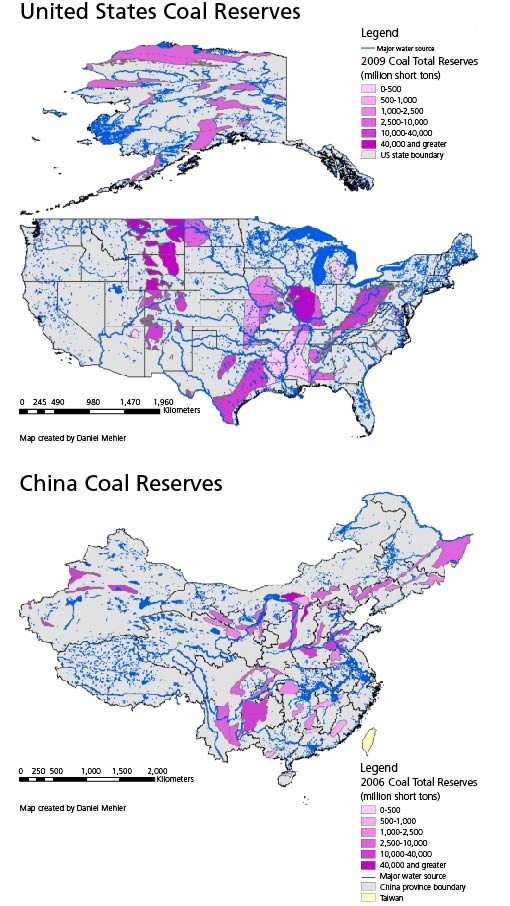 Given the size of China's and the United States' coal resources, their decisions to tap and utilize that coal will play a significant role in determining the future of the global climate.