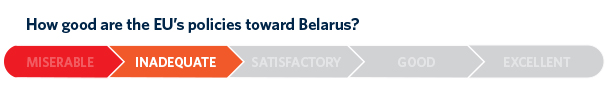 If the EU wants a reliable partner in Belarus, the country must be transformed into a more democratic state. Only the Belarusian people can achieve this transformation.
