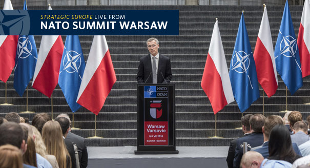 Carnegie Europe Live From the NATO Summit in Warsaw