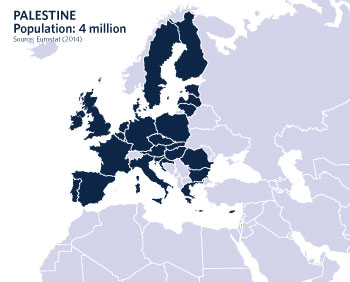 Palestinians cannot fathom why European citizens' support for Palestinian rights has advanced so much more in recent decades than official EU positions.