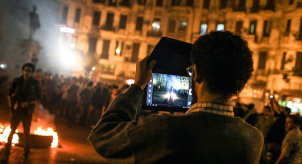 Egypt's Media in the Midst of Revolution