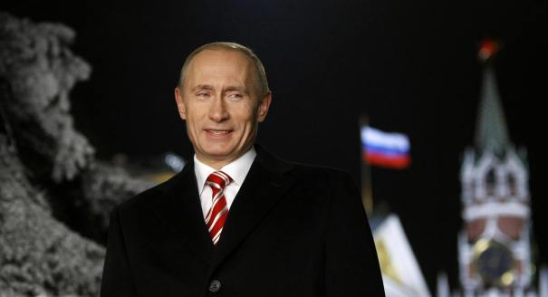 Vladimir Putin's Terrific, Triumphant, All Good, Totally Badass Year