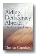 This book examines democracy aid programs relating to elections, political parties, governmental reform, rule of law, civil society, independent media, labor unions, decentralization, and other elements of what Carothers describes as