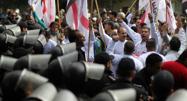 The future of the Egyptian workers' movement under the new constitution is uncertain.