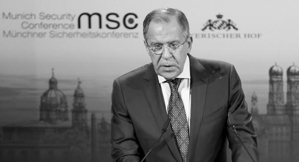 Russia's Performance at the Munich Security Conference: A Symptom or a Cause?
