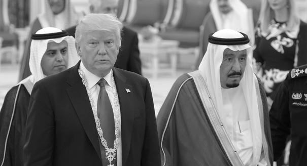 What Is Trump Getting for Sucking Up to Saudi Arabia?