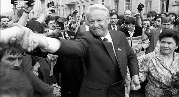 Yeltsin's Overcoat