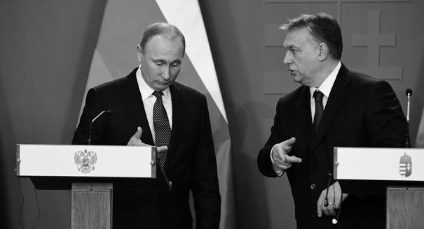 Putin on the Back Burner as Orban Flirts With Trump