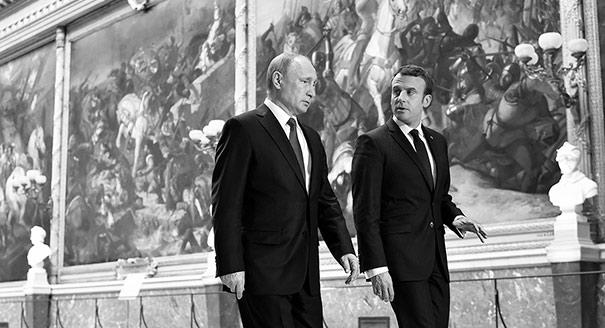 Macron's Grand Gesture Toward Russia Might Just Pay Off