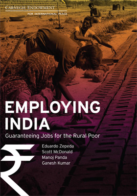 Employing India Guaranteeing Jobs For The Rural Poor Carnegie