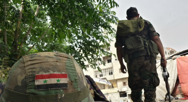 Securing the Syrian Regime