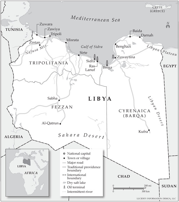 The growing instability in Libya's eastern province is best addressed in the near term by an effective constitution and the institutionalization of the security sector.