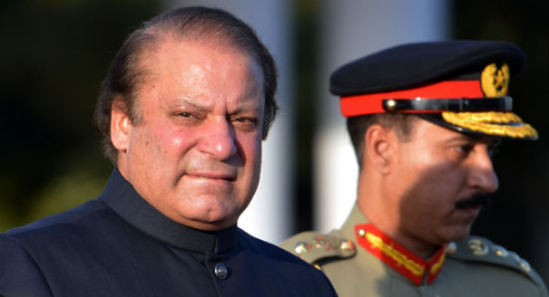 Pakistani PM Nawaz Sharif