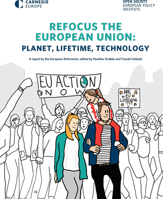 Refocus the European Union: Planet, Lifetime, Technology - Carnegie