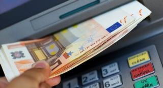 Euros from an ATM