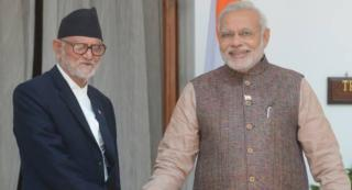 Indian and Nepali Leaders