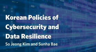 A Korean Model of Cyber Defense and Data Resilience