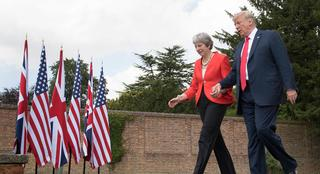"""Trump's U.K. State Visit Puts """"Special Relationship"""" to the Test"""