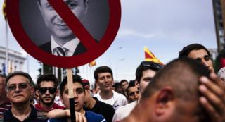 Macedonian Prime Minister Fights to Stay in Power