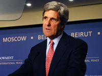 Senator John Kerry on U.S. Policy Toward the Middle East