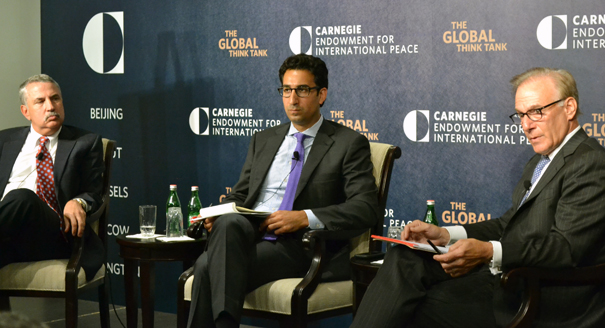 a discussion on international arms control