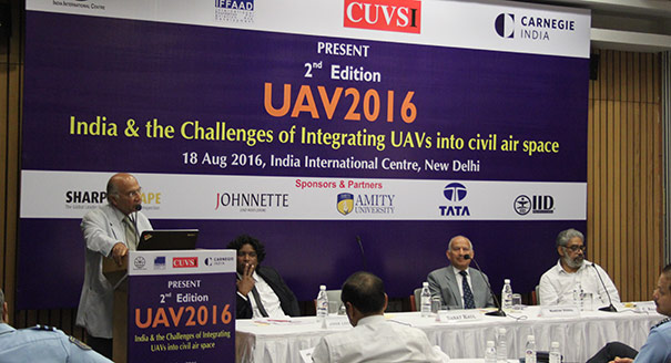 India and the Challenges of Integrating Unmanned Aerial Vehicles and Systems in Airspace