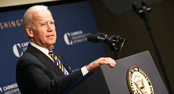 U.S. Vice President Joe Biden on Nuclear Security