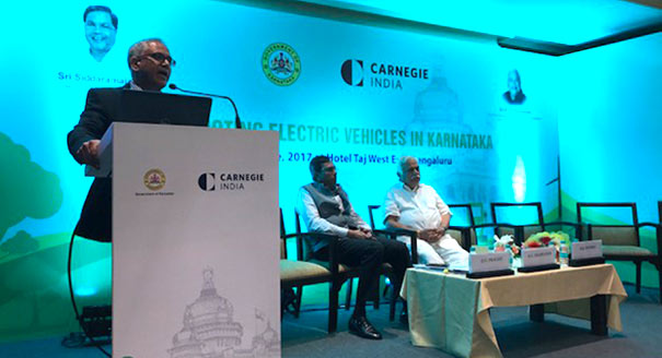 Adoption of Electric Vehicles in Karnataka: Route to a Definitive Roadmap