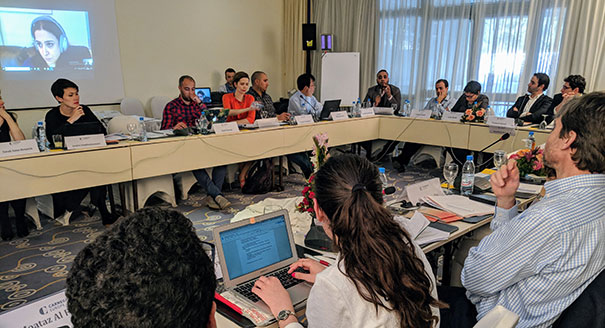 Civic Research Network Meets in Tunisia