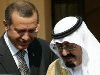 Erdogan and King Abdullah