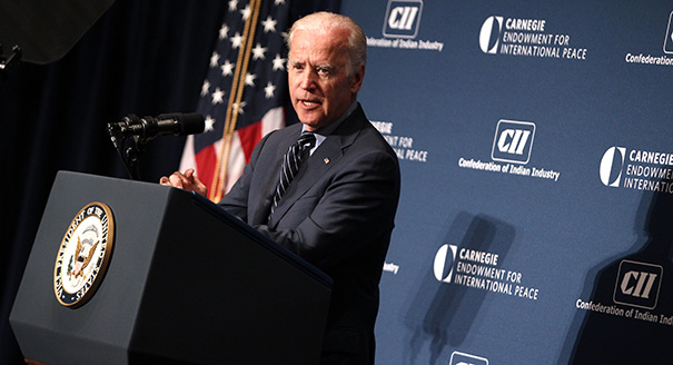 Joe Biden on U.S.-India Relations