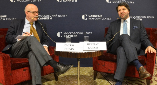 Discussion with Afghanistan's Deputy Foreign Minister Hekmat Karzai