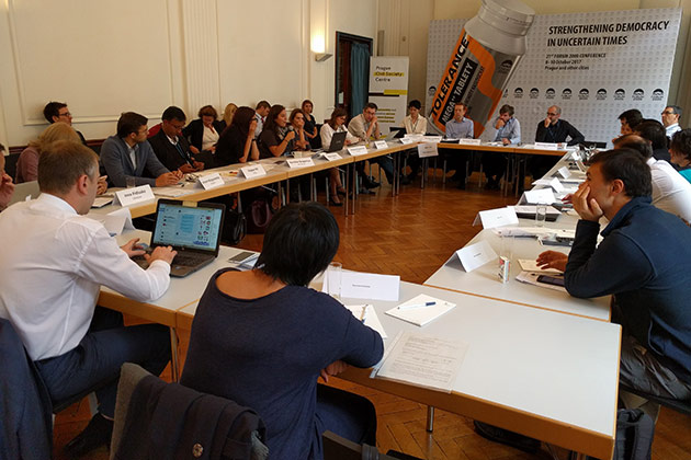 Civic Research Network Meets in Prague