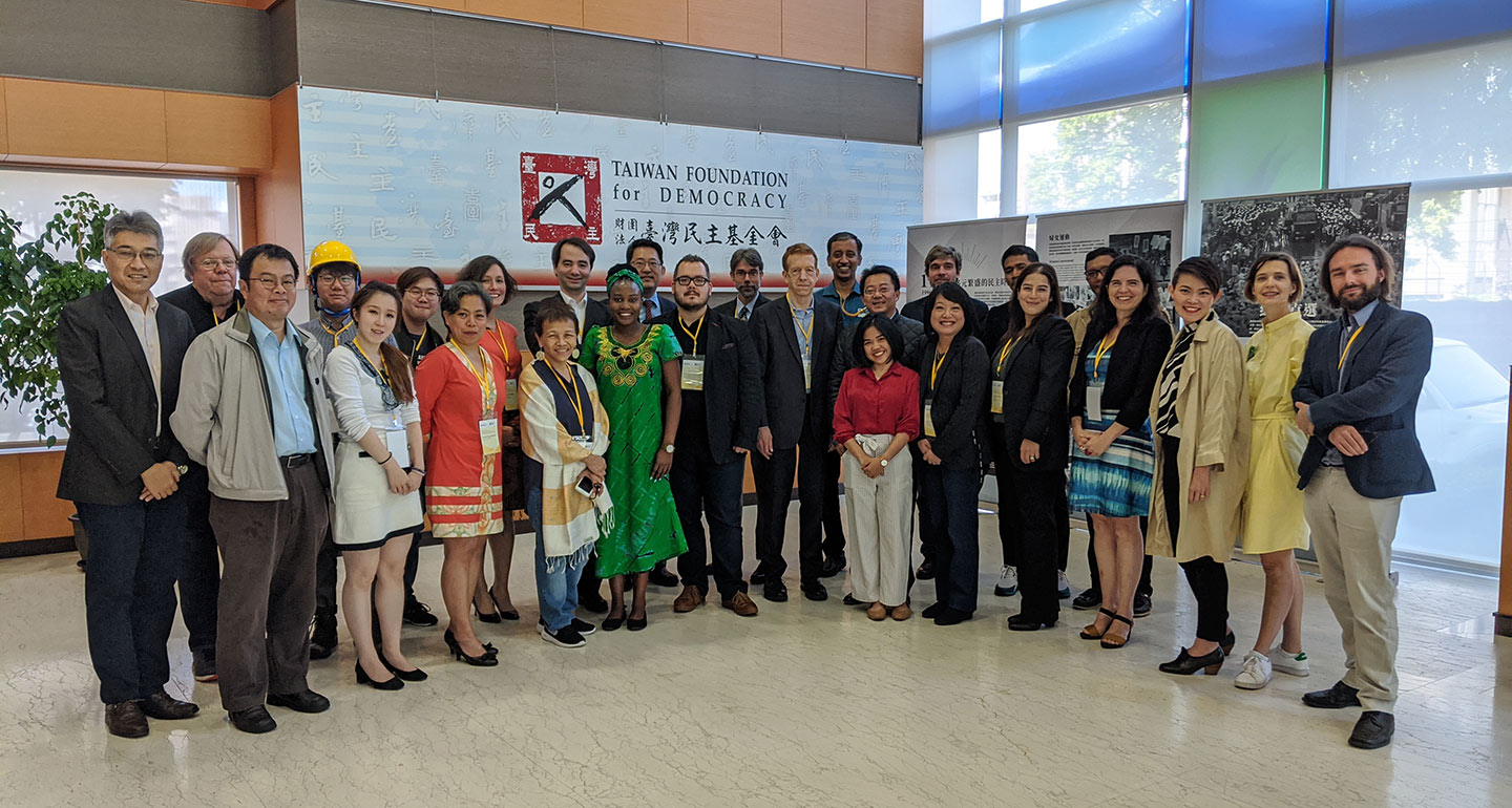 Civic Research Network Meets in Taiwan