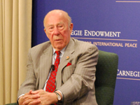 former Secretary of State George Shultz