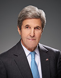 John Kerry is a visiting distinguished statesman at the Carnegie Endowment for International Peace, where he will focus on conflict resolution and global environmental challenges.