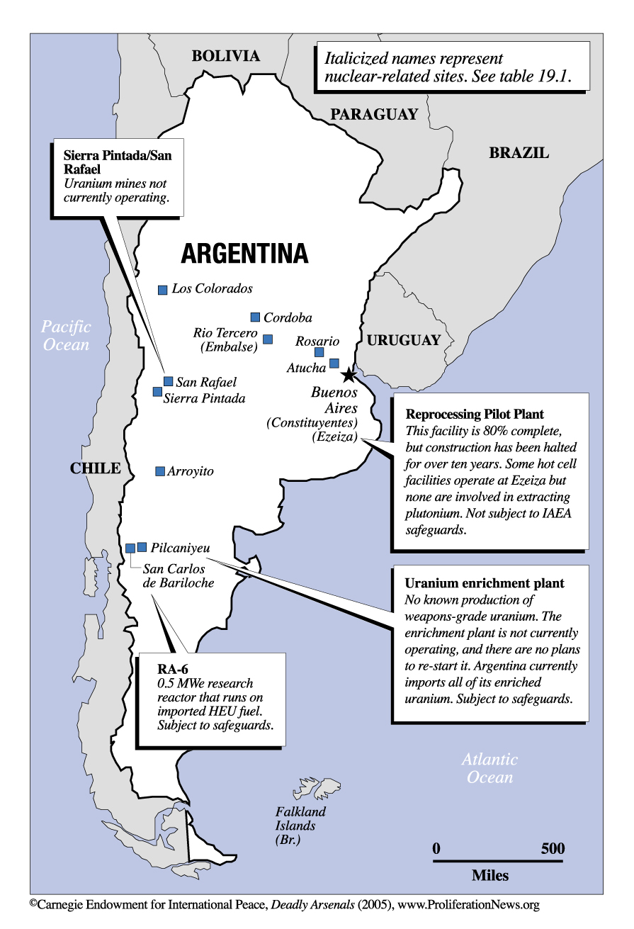 Topic Specific Maps - Argentina map natural resources