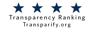 text: 4 Star Transparency Ranking - Transparify.org