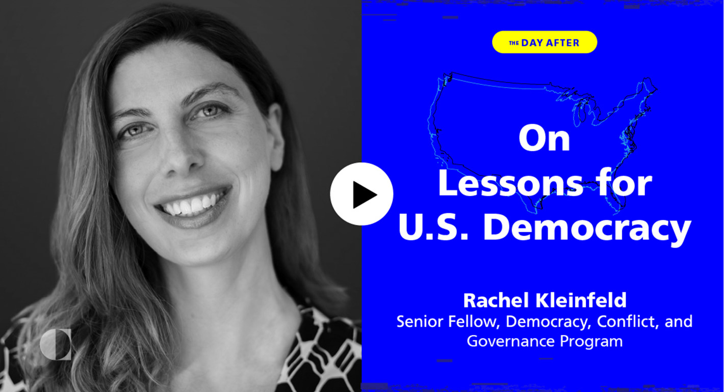 On Lessons for U.S. Democracy