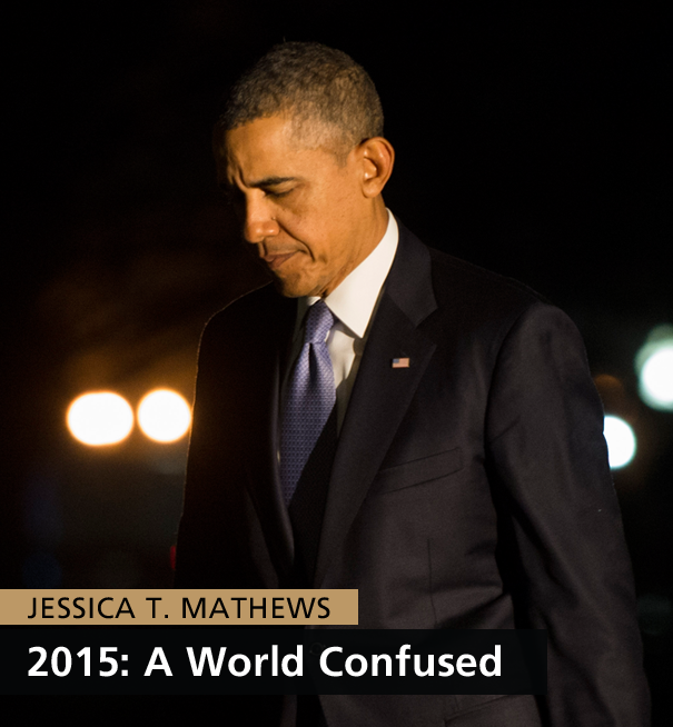 Jessica T. Mathews - 2015: A World Confused