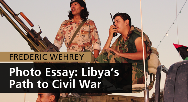 Photo Essay: Libya's Path to Civil War