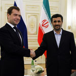 Medvedev and Ahmadinejad