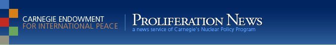 Carnegie Endowment for International Peace | Proliferation News
