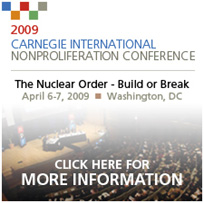 2009 Carnegie International Nonproliferation Conference